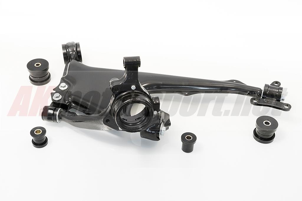Full Rear Wishbone Polyurethane Bushings Kit - Audi 100 C4 / V8 / 200 C3 -  48 mm