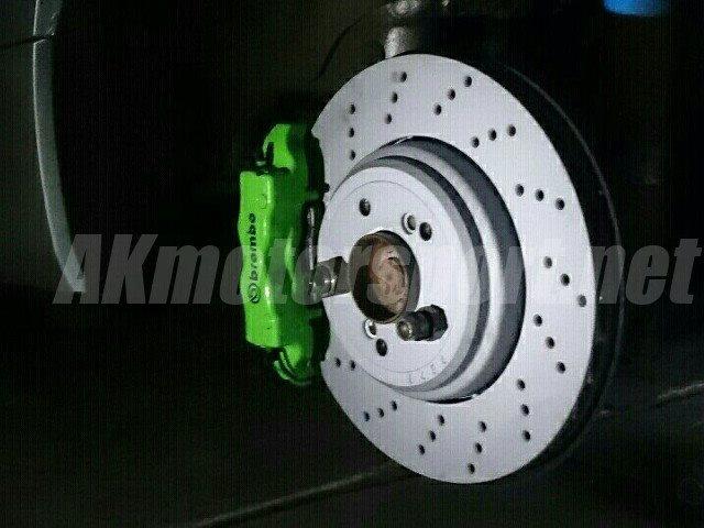 Full Rear Big Brake Kit For Bmw E90 E91 E92 E93