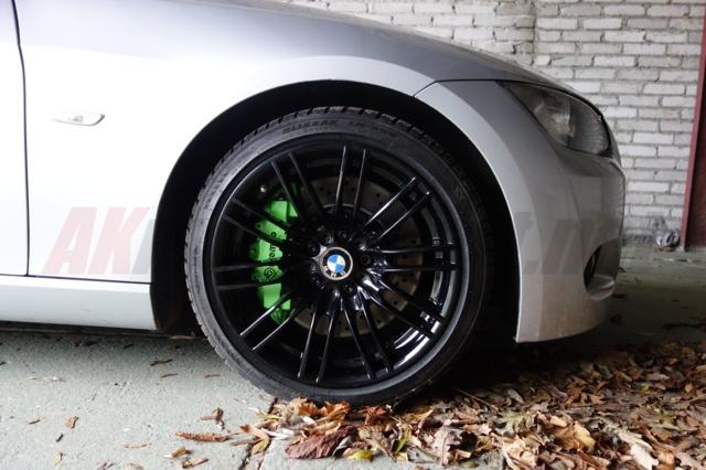 BMW E92 335i big brakes brembo 8 pot gallardo 360 mm disc 1