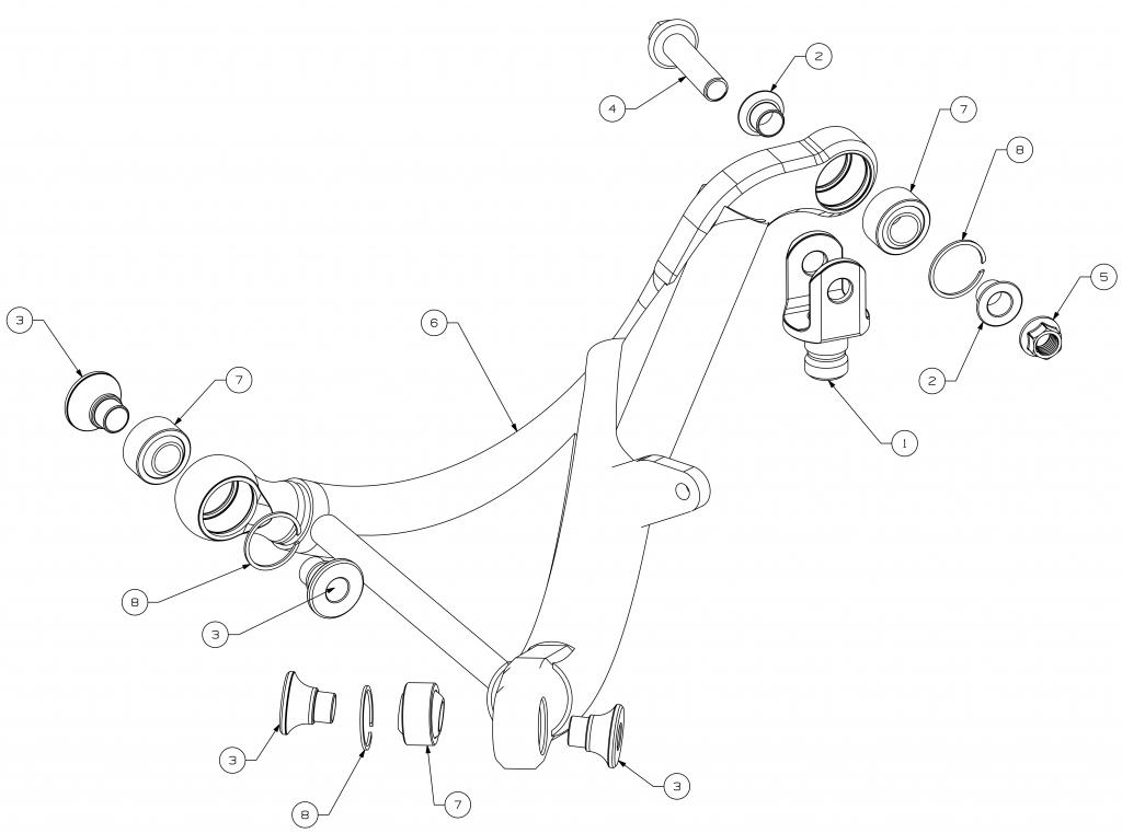 lancer-evo-x-r4-rear-upper-arm-CE114-231-CE114-230