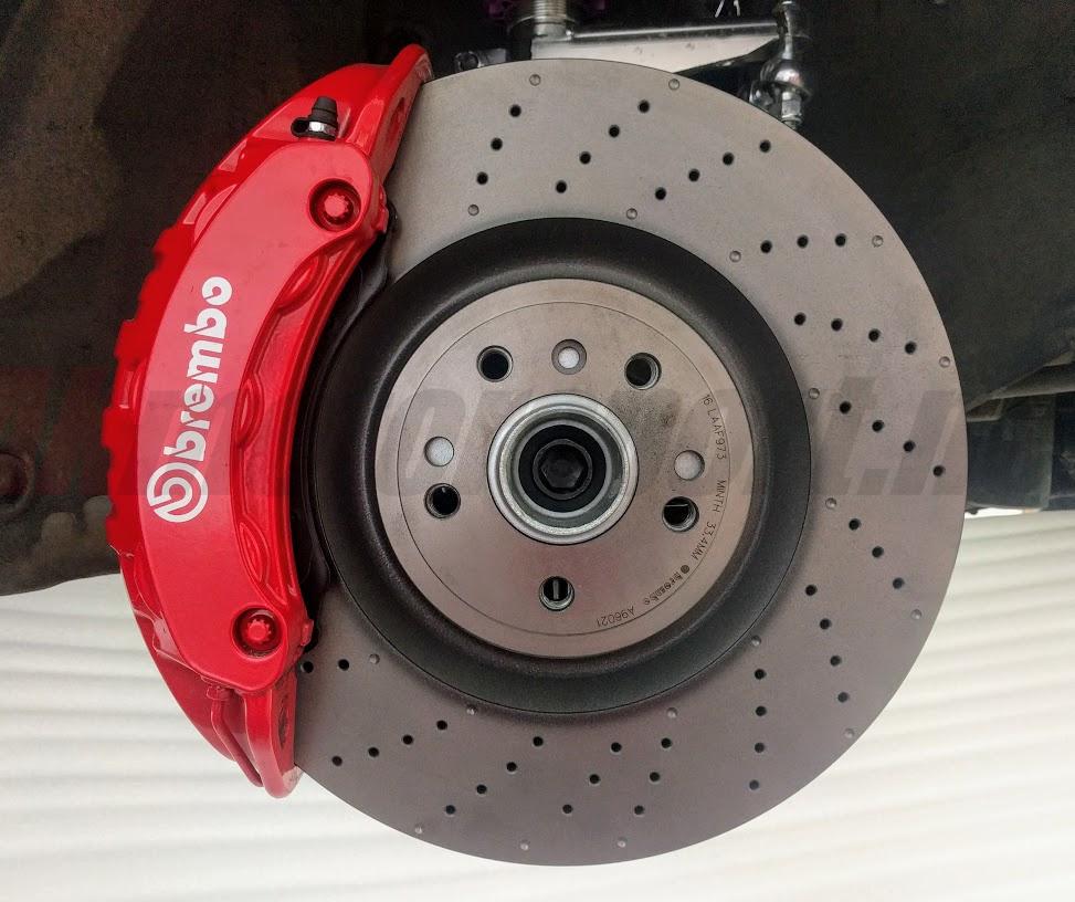 Brake Adapters Porsche Macan 6 Pot 375mm Disc For Audi